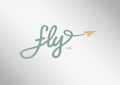 fly! for ABGMI Logo Design