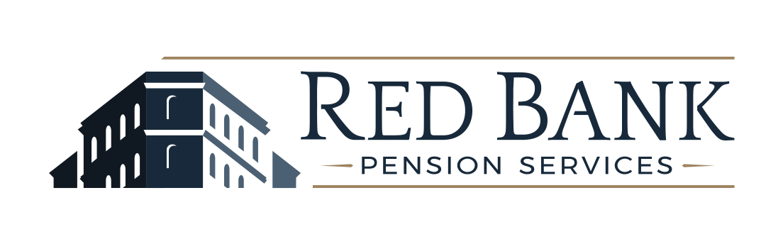 Final, approved Red Bank Pension Services logo design