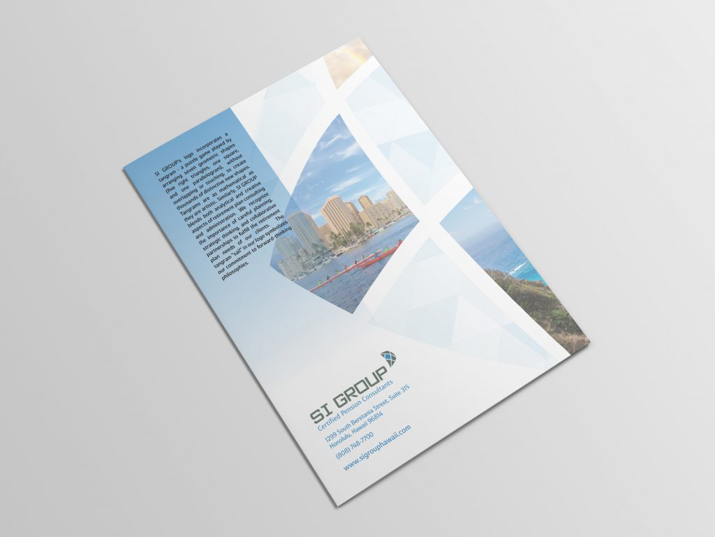 SI Group brochure back