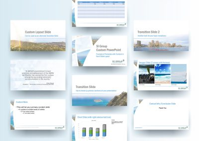 SI Group Presentation Template
