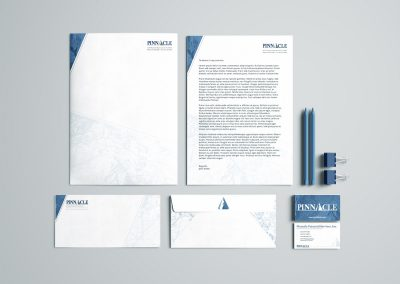 Pinnacle Corporate Stationery