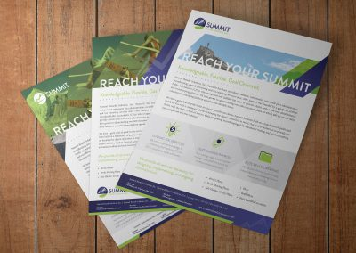 Summit Flyers & Sell Sheets