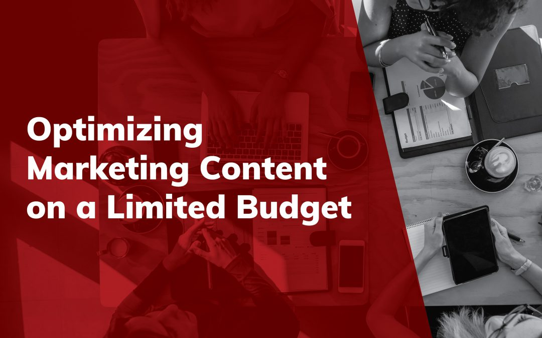 Optimizing Marketing Content on a Limited Budget