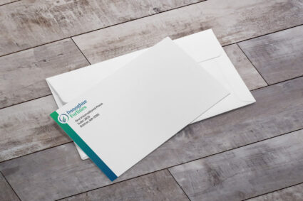 Photo of Donoghue Forlines corporate envelope