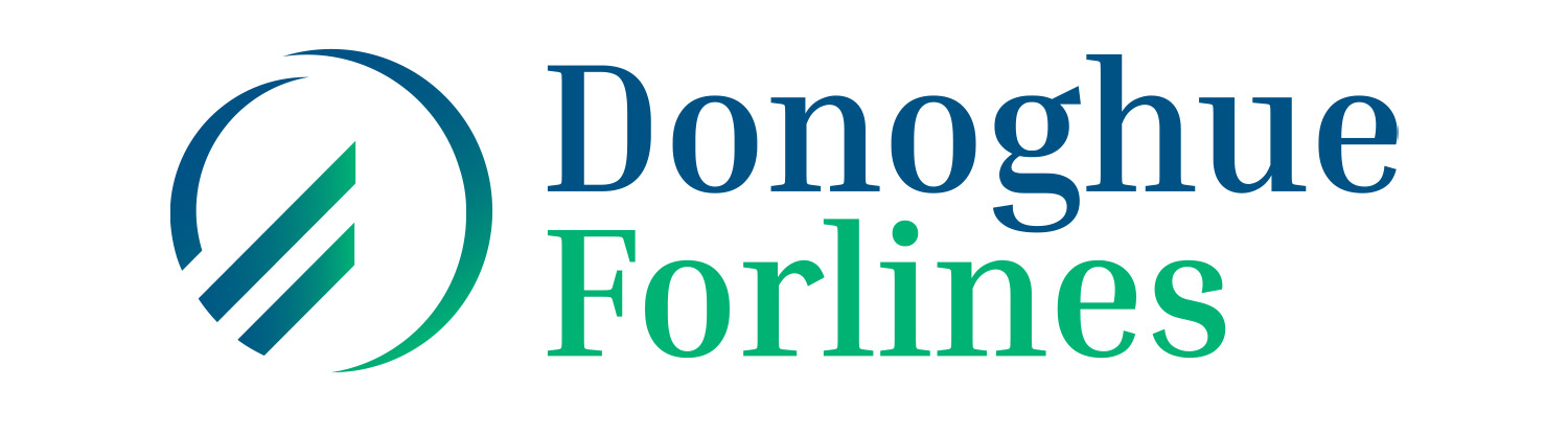 Final logo design for Donoghue Forlines