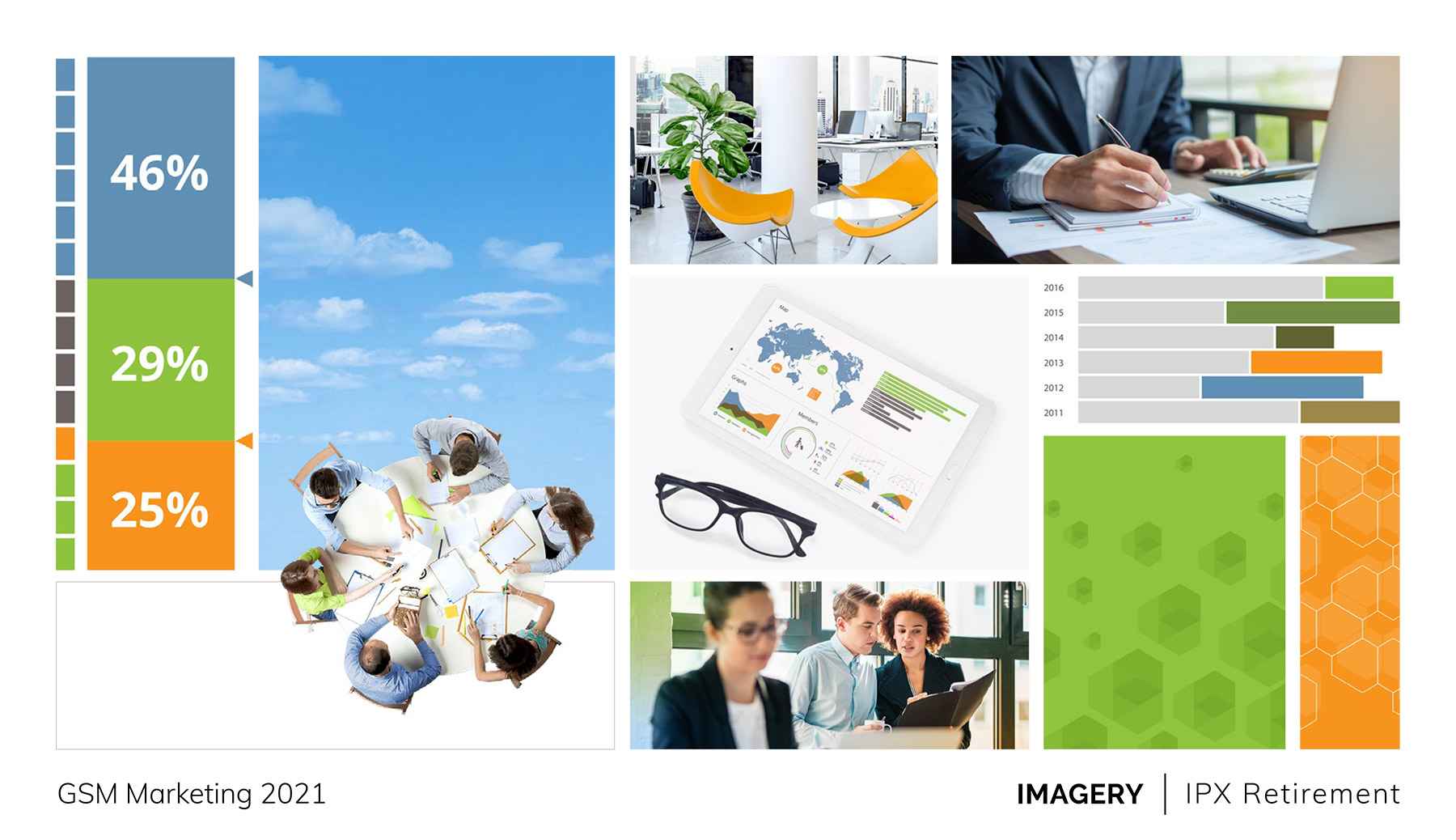 Concept slide: IPX imagery style