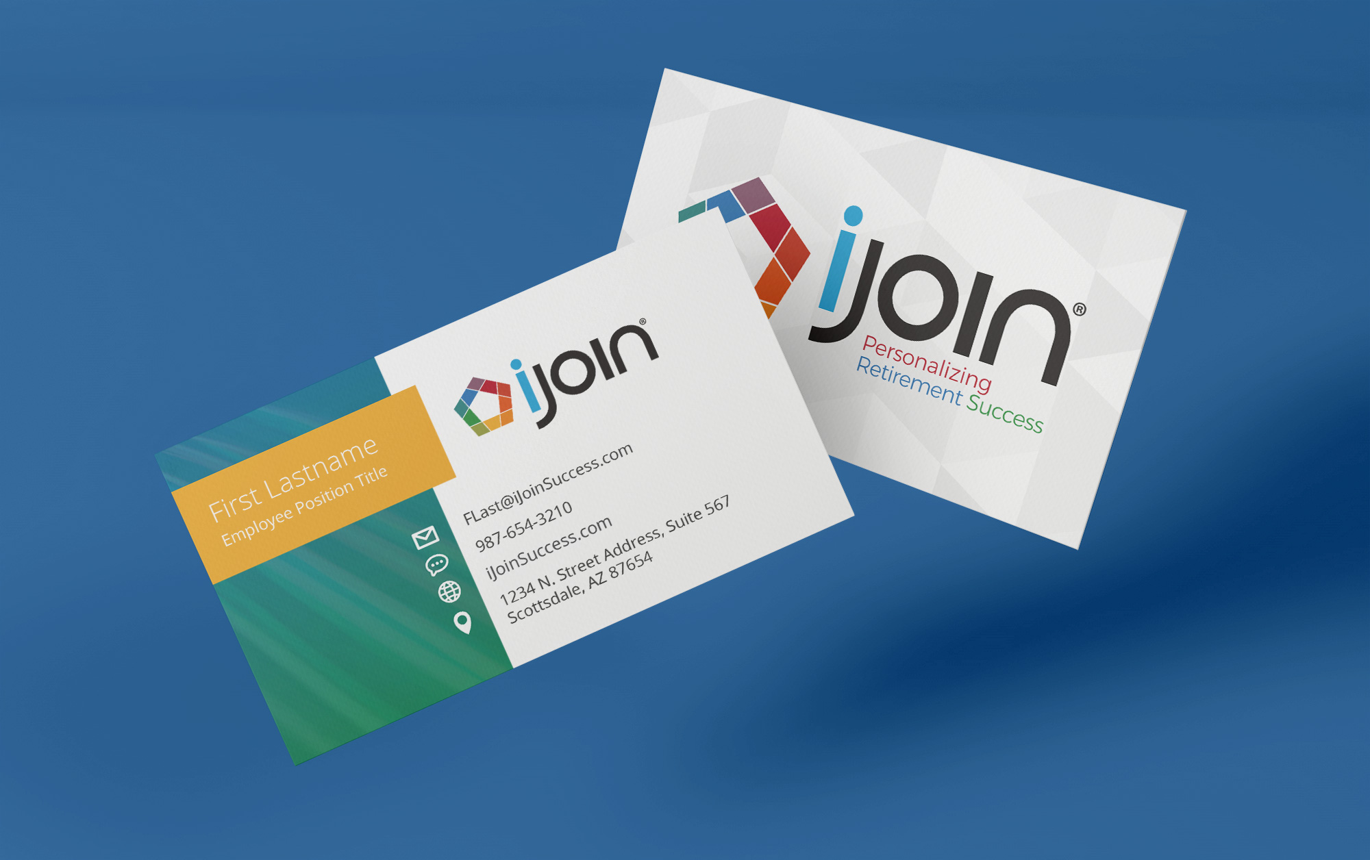 iJoin business card design